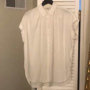 Very soft white shirt